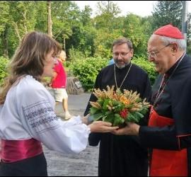El cardenal Sandri llega a Ucrania