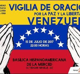 Vigilia de oración por Venezuela
