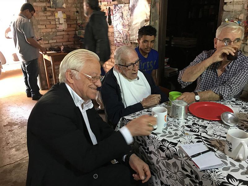 Desayunando con Casaldáliga