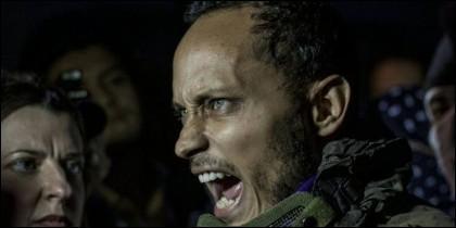 El reblede venezolano Óscar Pérez.