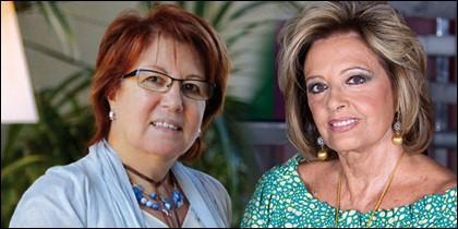 Rosa Villacastín y María Teresa Campos.