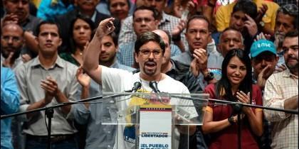 El diputado Freddy Guevara anunció el inicio de la 'hora cero'