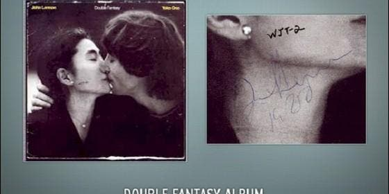 La copia del disco 'Double Fantasy'