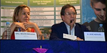 Belén Molleda y Pepe Hervás.