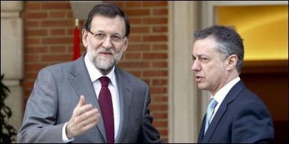 Rajoy con Urkullu.