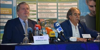 Íñigo Méndez de Vigo y Graciano Palomo.