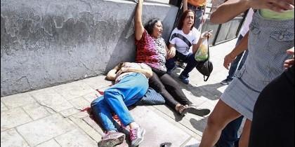 Una mujer muerta durante la votación en Venezuela