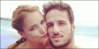 Alba Carrillo con Feliciano López, cuando eran pareja feliz.