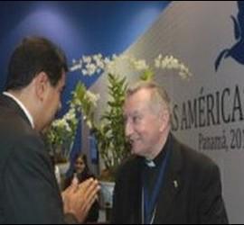 Parolin, con Maduro