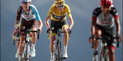 Chris Froome tiene casi asegurado su cuarto Tour de Francia.