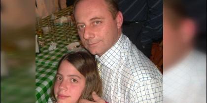 Antonio del Castillo con su hija Marta