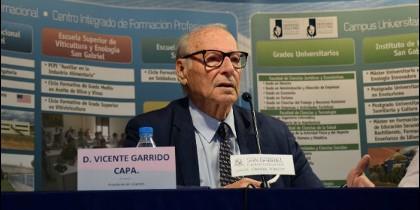 Vicente Garrido Capa en el curso Prensa y Comer 2017.