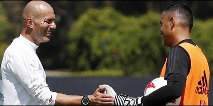 La llamada que pone nervioso a Keylor Navas en el Real Madrid