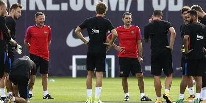 Los repudiados de Valverde: los jugadores del Barça a los que no quiere ni ver
