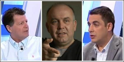 Alfonso Rojo, Gonzalo Boye y Antonio Naranjo.