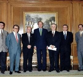 Don Juan Carlos, con FEREDE