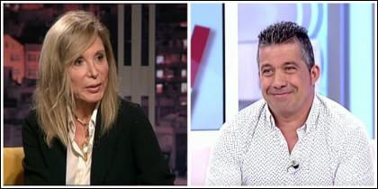 Pilar Eyre y José Luis.