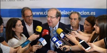 Juan Vicente Herrera en el curso Prensa y Poder 2017.