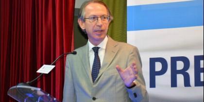 El presidente de la Agencia Efe, José Antonio Vera.