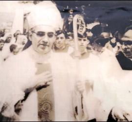 Rosa Chávez, con Romero