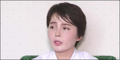 La norcoreana Lim Ji-hyun.