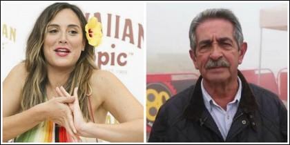 Tamara Falcó y Miguel Ángel Revilla.