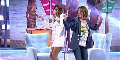 Lara Álvarez y Toñi Moreno