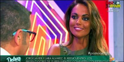 Lara Álvarez.