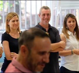 Participantes en el curso de Educación para la Interioridad