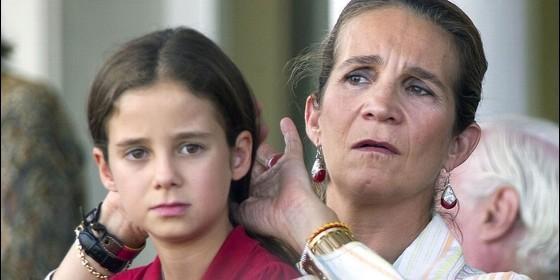 Victoria Federica y su madre
