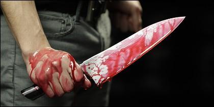 Cuchillo, crimen, delito.