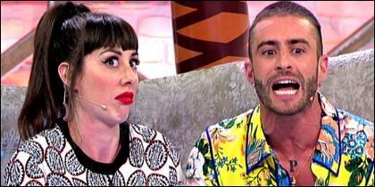 Natalia Ferviú y Pelayo Díaz en 'Cámbiame'.