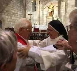El Padre Ángel, y sor Lucía Caram