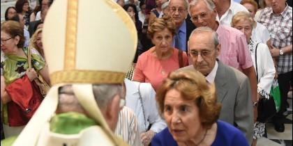 Osoro, a los abuelos de Madrid