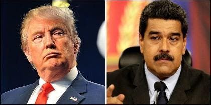 Donald Trump (EEUU) y Nicolás Madrudo (VENEZUELA).
