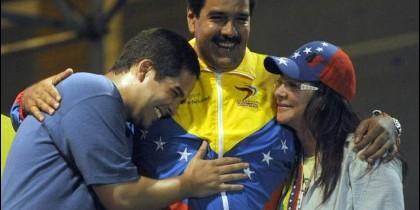 Yoswal, Maduro y Cilia