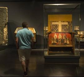 Piezas de Sijena en el Museo de Lleida