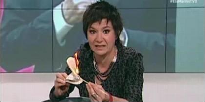 La periodista de TV3 Empar Moliner.