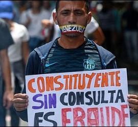 'Fraude Constituyente' en Venezuela