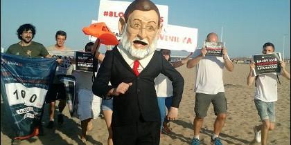 Rajoy y refugiados