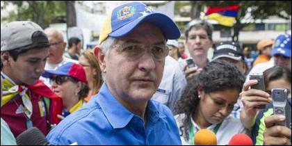 Antonio Ledezma, alcalde metropolitano de Caracas y opositor venezolano.