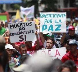 Marcha por la Constituyente en Venezuela