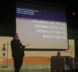 Raúl Tinajero, en la asmablea de la ACG