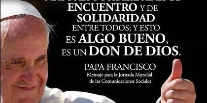 Francisco, Papa de internet