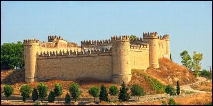 El Castillo de Maqueda o Castillo de la Vela.