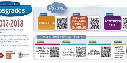 Postgrados 2017-18 en el Centro de Humanización de la Salud