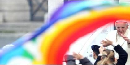 El Papa Francisco, esperanza para los católicos gays