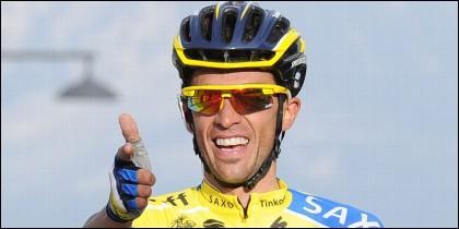 El español Alberto Contador.