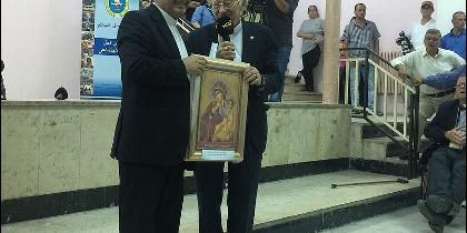 Padre Carlos y Padre Ángel, en Amán