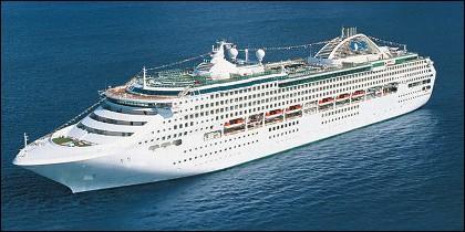 El barco 'Sea Princess'.